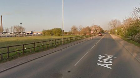 One woman was injured following a multi-car pile-up on the A605 in Whittlesey on Tuesday, October 22