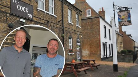 New owners Chris Kirby and Darren Mundy hope to transform The Cock Inn into a proper entertainment v