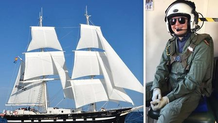 Ely 1094 Squadron cadet Thea Poli (pictured) will set sail on a voyage from England to France onboar