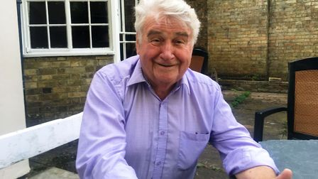 Cllr Bill Hunt who as planning committee chairman of East Cambs District Council has spoken of threa