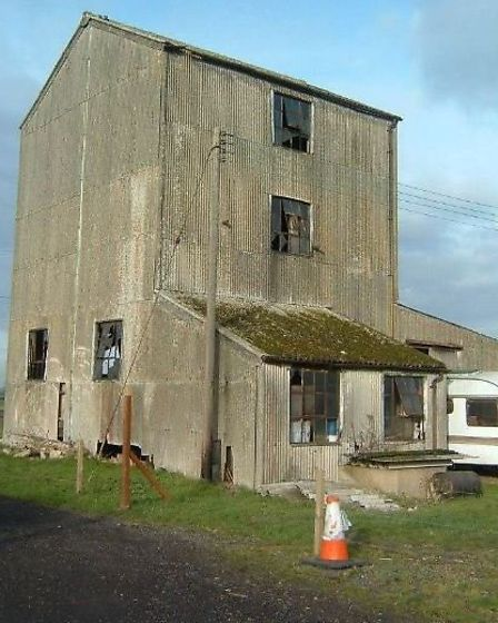 The Old Feed Mill, in Prickwillow, was little more than a corrugated steel clad warehouse, long sinc