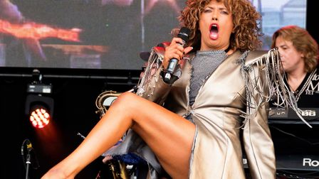 Come shake a tail feather with the UK's favourite Tina Turner spectacular…. aka Justine Riddoch and
