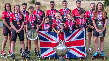 Wisbech Inline Speed Skating Club. Three nominees for categories in the Living Sport Sports Awards 2