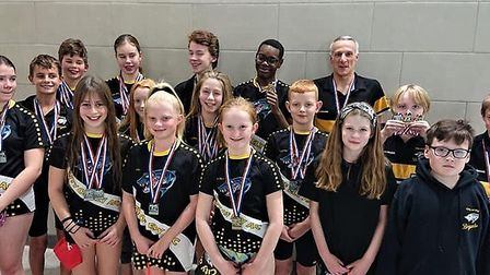 The City of Ely Amateur Swimming Club's 23 swimmers took home an impressive haul of medals at the Ca