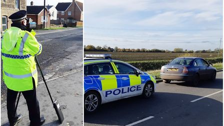 Drivers caught speeding near schools in East Cambridgeshire. Picture: CAMBS POLICE