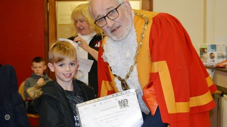 Writers shared their tales about man's best friend at a 'pawsome' short story competition in Ely. Pi