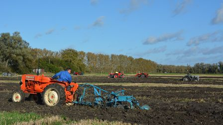 A sunny morning across the Fens held the perfect setting for the postponed Prickwillow Ploughing Mat