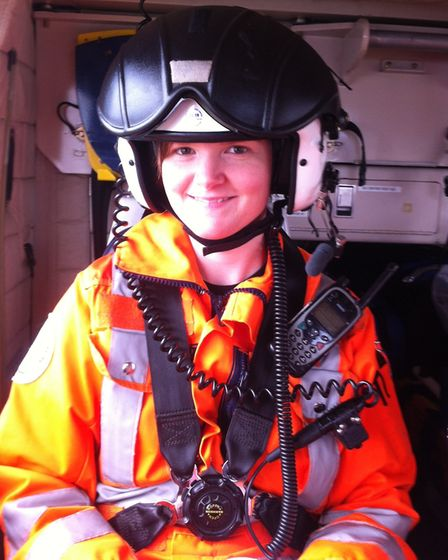 Sally Boor has been shortlisted in the air ambulance awards of excellence for 'air ambulance paramed