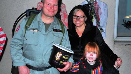 Tommy and Jo Kellys spooky Halloween house in March thats set to scare the town this week. Picture: