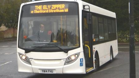 The 'Ely Zipper' bus service has been improved thanks to additional funding and support from local c