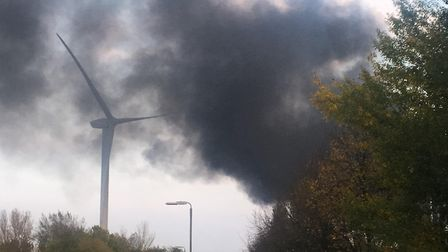 Explosions are being heard in March this afternoon amid a blaze that has broken out at Force One Ltd