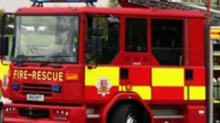 Fire fighters were called to a caravan fire in Little Dunmow on Saturday (November 2) evening. Pictu
