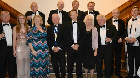 George Freeman MP was guest speaker at this year's Old Eleans' Club Dinner at King's Ely. Picture: K
