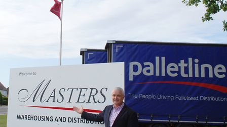 Masters Logistical, in Ely Road, will increase its operations with the support of funding from Lloyd