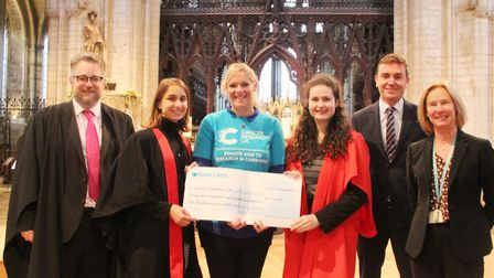 King's Ely raise £34,000 for charities - one of the highest totals to date. Picture: JORDAN DAY