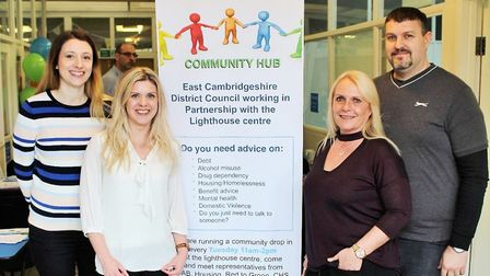 Community hub in Littleport to reduce risk of homelessness. Picture: ECDC COMMS