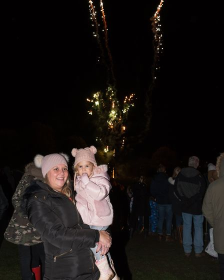 The Dunmow Round Table held a fireworks and bonfire evening on Saturday (November 2) at the town's