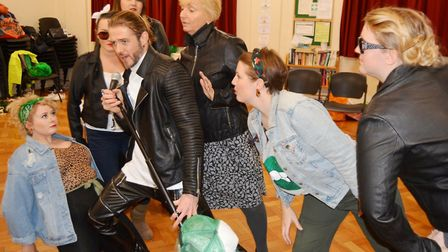 Get set for The Little Shop of Horrors to be performed at The Maltings. Picture: MIKE ROUSE