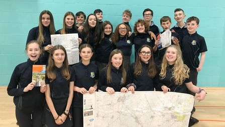 Funding for Duke of Edinburgh pupils at Littleport and East Cambs Academy. Picture: Rachel Allerton