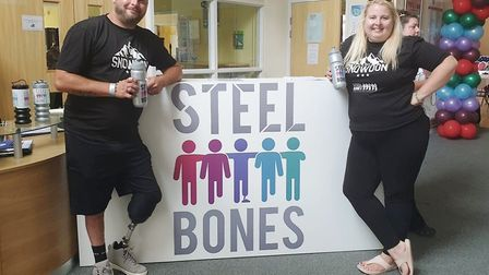 A funding boost of almost £50,000 has been granted to Cambridgeshire charity Steel Bones that suppor
