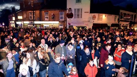 Throwback to Chatteris Christmas Lights 2018. Picture: IAN CARTER