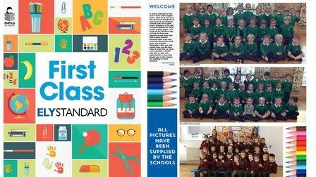 Pick up today's Ely Standard and see your children and grandchildren inside our First Class pullout