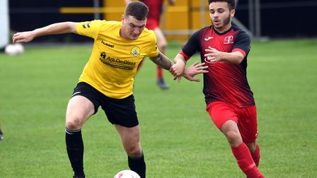 Craig Gillies hit a hat-trick as March Town slammed AFC Sudbury Reserves. Picture: IAN CARTER