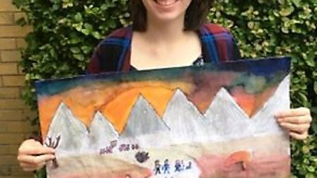 Littleport Academy student Hannah Turnock's peace poster wins local round of annual competition - sh