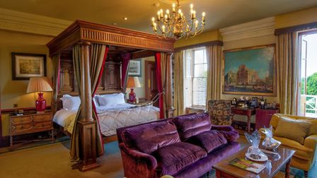 At Stoke Park Country Club, Spa and Hotel in Buckinghamshire you're treated like royalty. Picture: S