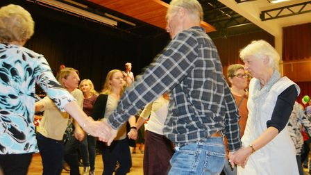 A fundraising evening of traditional dancing and storytelling took place at Ely College to raise mon