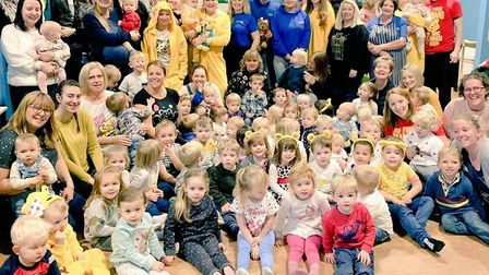 More than £1000 has been raised for Children in Need after a morning of fun for childminders in Ely.