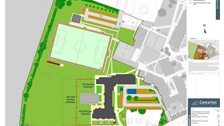 Building work is underway to transform Cromwell Community College so it becomes the school in Cambri