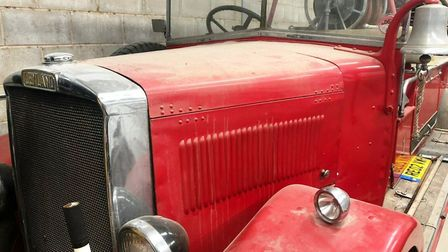 The 1934 Leyland Cub fire engine that saw service in March and Ely before being bought and restored