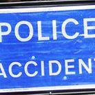 Essex Police are appealing for information after a taxi collided with a tree in Leaden Roding yester