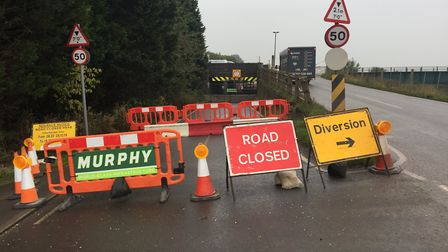 Stonea underpass could be closed up to a year after 13 vehicle strikes in 2019 alone. Picture: Suppl