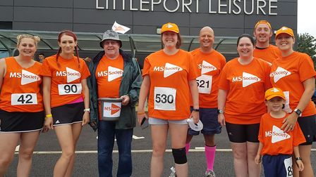 More than £3,000 has been raised for an MS charity at the Littleport 10k race over the weekend. Pict