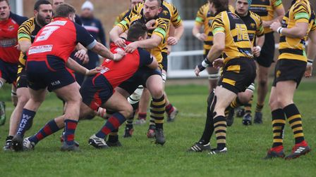Ely v Wisbech rugby.Picture; STEVE WELLS