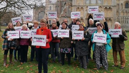 Campaigners from across Cambridgeshire canvassed in Ely to persuade residents to vote Liberal Democr