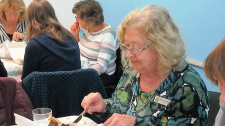 Members of the Ely Inner Wheel group raised £150 for the charity Home Start, which helps to support