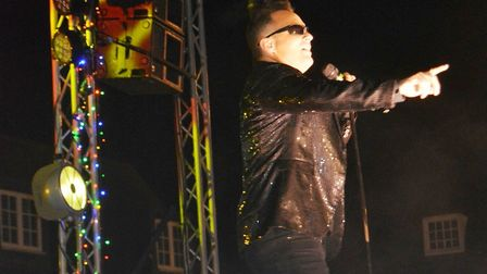 Spectacular switch on event for Ely's Christmas lights included X Factor popstar Chico, KD Theatre a