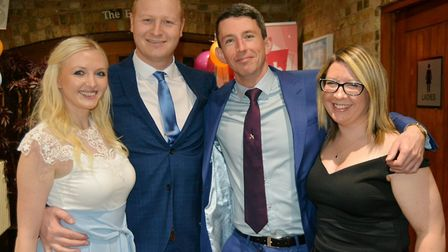 Charity auction The Really Big Bash raises £1800 in Ely. Picture: MIKE ROUSE