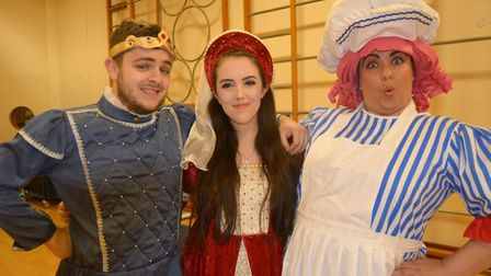 Panto time with the Littleport Players and their production of Sleeping Beauty. Picture; MIKE ROUSE