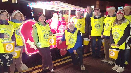 The Rotary Clubs of Ely will again be touring the streets of Ely in the run up to Christmas with the