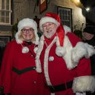The Christmas lights switch-on event in Dunmow. Picture: SAFFRON PHOTO