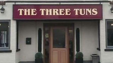 The Three Tuns pub in Doddington was broken into this morning (Tuesday December 3) and property was