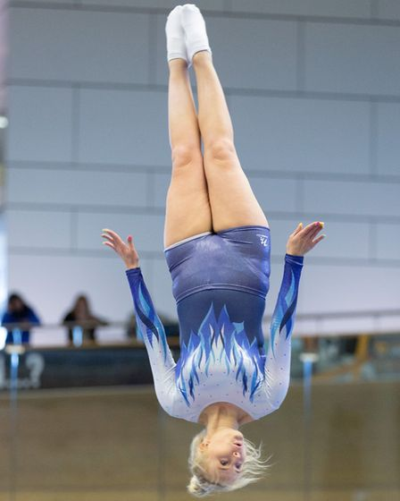 Five elite performers bounced their way into the trampoline and double mini trampoline event league