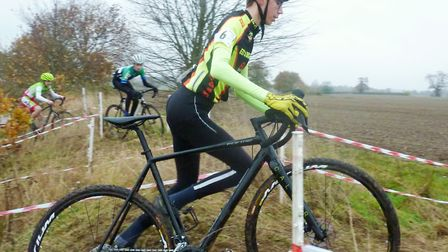 Isaac Barton in the youth race. Picture: Fergus Muir.