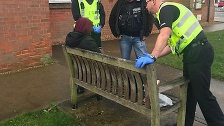 Force's burglary day of action sees eight arrests for burglary, robbery and theft. Pictures: CAMBS P