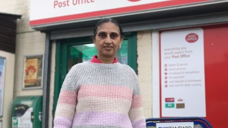 Sukhpal Jatana of Mepal Post Office helped save one of her regular customers after he went missing f