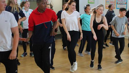 A cast of Ely students will bring gritty musical Made in Dagenham to life at the Hayward Theatre at